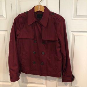 Cranberry short button up jacket